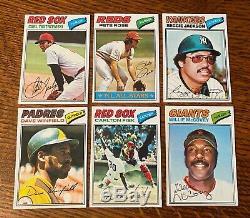 1977 Topps Baseball Near Complete Set (645/660) Ryan Psa 8, Nrmt/mt Set