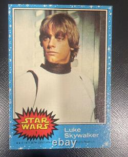 1977 Topps Star Wars Trading Cards Series 1-5 complete set 330 cards