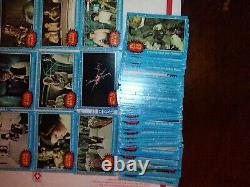 1977 Vintage Topps Star Wars Blue Series 1 LOT OF 132 Cards NOT A COMPLETE SET