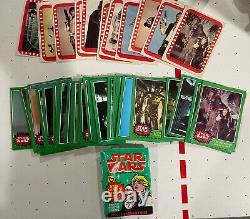 1977 Vintage Topps Star Wars Cards Complete Set Series 1-5 330 Card & 66 Sticker