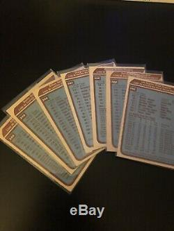 1979-80 OPC Complete Set withWayne Gretzky PSA 4 First Run Print Clean Checklists