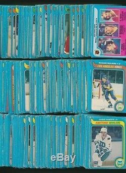 1979-80 OPC Hockey Complete Set (396) inc. #18 Wayne Gretzky RC