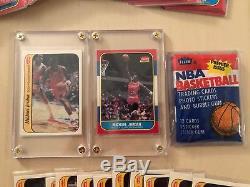 19887 Fleer Basketball Set Complete Stickers 1132