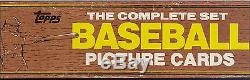 1982 Topps COMPLETE 792 CARD BASEBALL Rare Factory Set Cal Ripken #21 Rookie