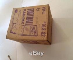 1982 Topps Football Card Set Rack Pack Case Joe Montana Ronnie Lott Box Wax