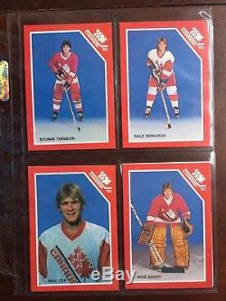 1983 Canada Junior National Team Set Mario Lemieux HOF RC Rookie Rare Yzerman