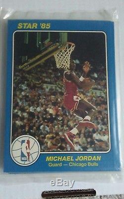 198485 Star Basketball Court Kings 5x7 Michael Jordan