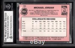1984 85 Star Basketball Set Break 101 Michael Jordan Bgs 8 With 2 95