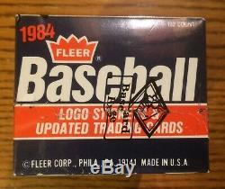 1984 Fleer Update Baseball Set BBCE Authenticated Clemens Puckett Rookies RC