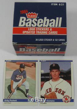 1984 Fleer Update Baseball Set Clemens Puckett Rookies Nm/Mt +