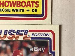 1984 Topps USFL Football Cards MINT Set Jim Kelly Steve Young Reggie White RC