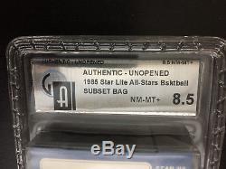 1985 85 Star Lite All-Star Michael Jordan Rookie Factory Sealed Set GAI 8.5