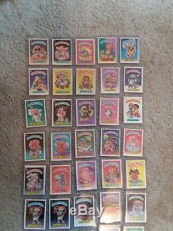 1985 GARBAGE PAIL KIDS SERIES 1 Complete variation Set Matte with Wrapper OS1