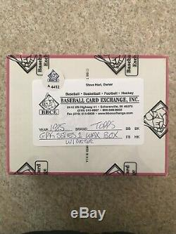 1985 Garbage Pail Kids 1st series BBCE box set 48 Unopened packs Withposter With. 25