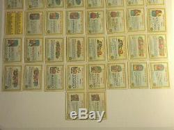 1985 Garbage Pail Kids GPK Series 1 OS1 Complete Set Nasty Nick Adam Bomb Cards