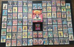1985 Garbage Pail Kids Series 1 Complete 88 Card Variation Set + OS1 Box & Wrap
