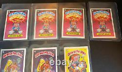 1985 Garbage Pail Kids UK Mini Series 1 Complete 88 Variant Set + Box Pack Wraps