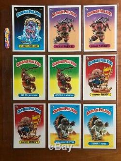 1985 TOPPS Garbage Pail Kids OS1 Series Complete Base Set UPDATED PICTURES L@@K