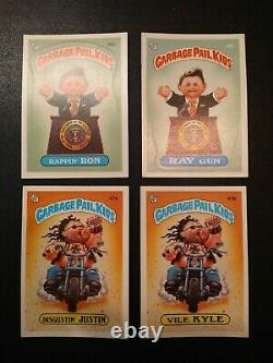1985 Topps Garbage Pail Kids 2nd Series Complete Set of 86 Cards Plus Wrapper