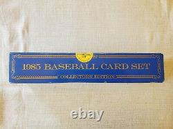1985 Topps Tiffany Complete Factory Sealed Set RARE McGwire Puckett Clemens