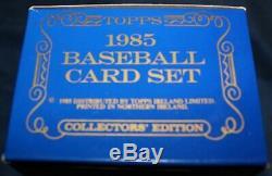 1985 Topps Tiffany Factory Baseball Sealed Set 792 Cards