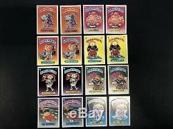 1985 garbage pail kids series 1 glossy Set 82 Cards Gpk OS1 First Series
