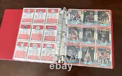 1986-1987 Fleer Basketball Almost Complete Set 131/132 No Michael Jordan #57