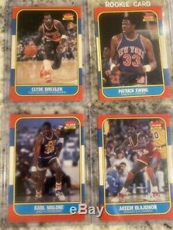 1986-87 1986 Fleer Basketball Complete Set + Stickers No Michael Jordan 57