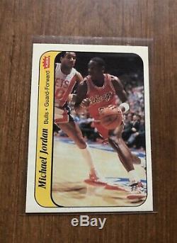 1986-87 Fleer Basketball Complete Set 132 Cards + Stickers Michael Jordan RC