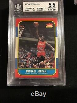 1986-87 Fleer Basketball Complete Set And Sticker Set Michael Jordan Rookie