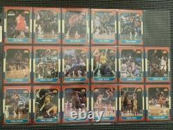 1986-87 Fleer Basketball Near Complete Set VERY Nice 131/132 No Michael Jordan