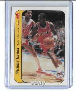 1986-87 Fleer Basketball sticker complete set! Including Jordan! READ