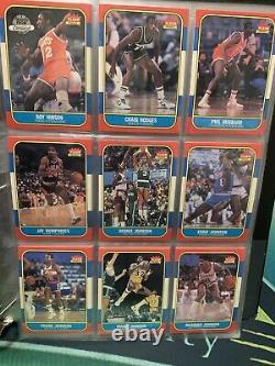 1986-87 Fleer Complete Set VERY NICE 131/132 No Michael Jordan My Personal Set