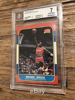 1986 87 Fleer Michael Jordan Rookie Card Complete Set With