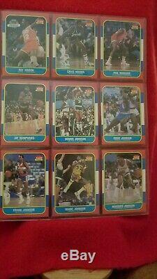 1986-87 fleer Basketball Complete Set + Stickers (Michael Jordan RC)