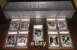 1986 Fleer Basketball 132 Card Set All Psa 8 Nq Michael Jordan #57 Rookie