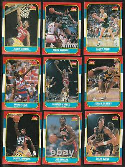 1986 Fleer Basketball Investment Package 4 PSA Jordan #57 2-8s 2-7s 2 Full Sets