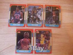 1986 Fleer Basketball Set, Minus Michael Jordan #57 SET OF 131/132
