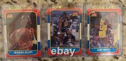 1986 Fleer Basketball Set No Michael Jordan #57 Card Wilkins Ewing Olajuwon