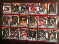 1986 Fleer Set 1-132 with Bulls Star Michael Jordan #57 RC Drexler Rookie PSA 10