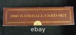 1986 Topps Tiffany Complete Set Factory Sealed 9 MINT