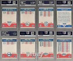 1987 FLEER BASKETBALL COMPLETE SET 95 PSA 8/PSA 9 with2nd YR JORDAN/JORDAN STICKER