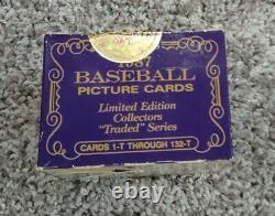1987 Topps Traded TIFFANY Baseball Set 132 Cards UNOPENED Sealed MADDUX RC-RARE