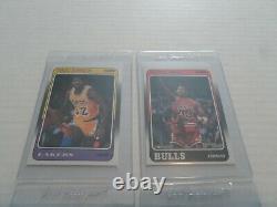 1988-89 Fleer Basketball Complete Set withStickers Pippen, Miller, Rodman, Jordan