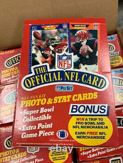 1989 Pro Set NFL Football Series 1 Hobby Box 36 Factory Sealed Packs Rc Hof