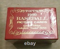 1989 Topps Tiffany Traded Set Sealed