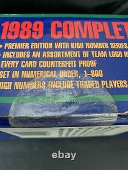 1989 UPPER DECK BASEBALL COMPLETE FACTORY SEALED SET Ken Griffey jr Rookie