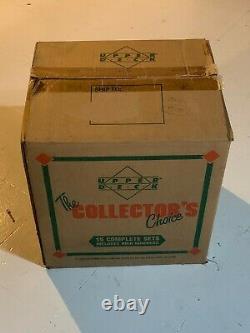 1989 Upper Deck Baseball Factory Set Case with 15 Sealed Sets Ken Griffey Jr