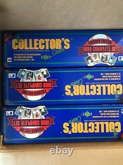 1989 Upper Deck Complete Factory Sealed Set FROM A SEALED CASE! Griffey RC