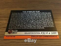 1990-91 Pro Set The Stanley Cup Hologram 3274/5000 Very Rare vg-ex condition